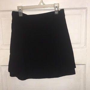 Forever 21 layered mini skirt